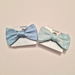 Two express men's bow ties